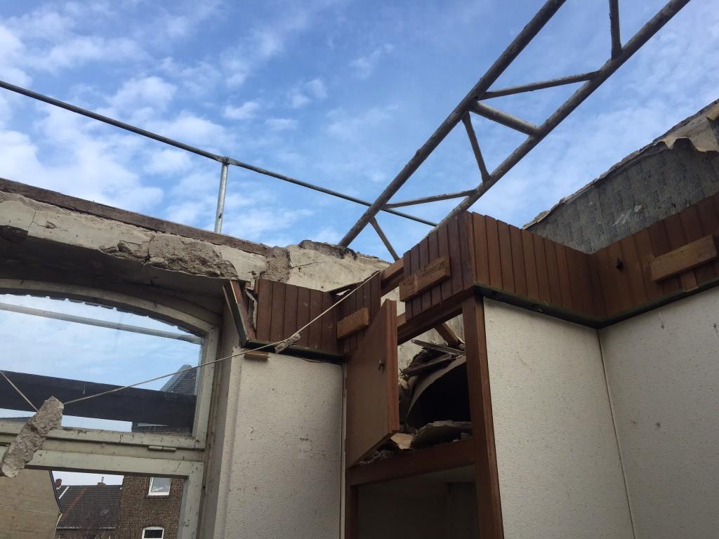 Sanierung eines Backstein Hinterhauses
