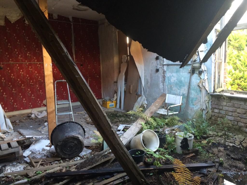 Ruine Loft Backstein
