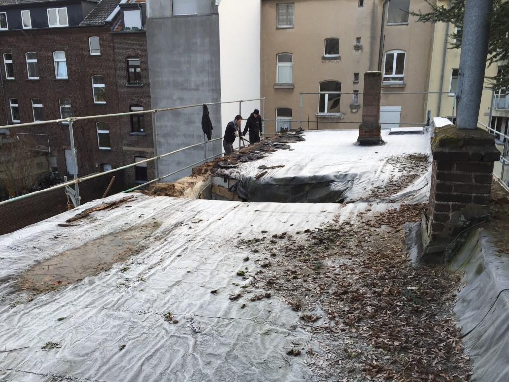 Unser altes Dach vor dem Abriss