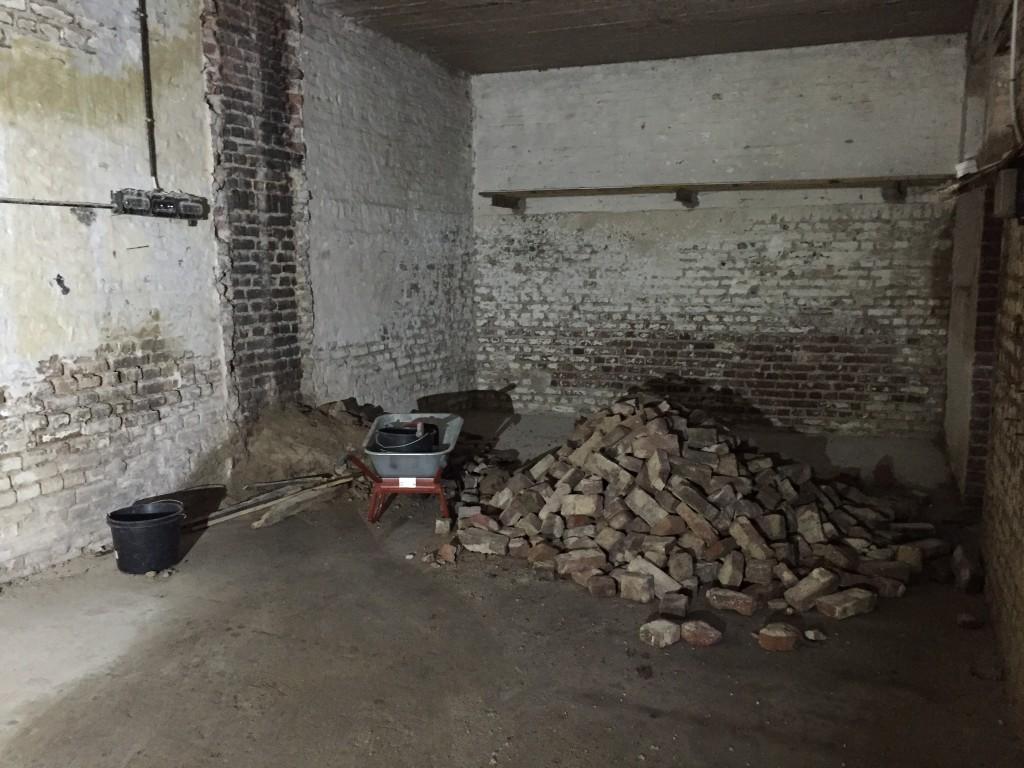 Abbruch der Kamine in unserem Loft EG