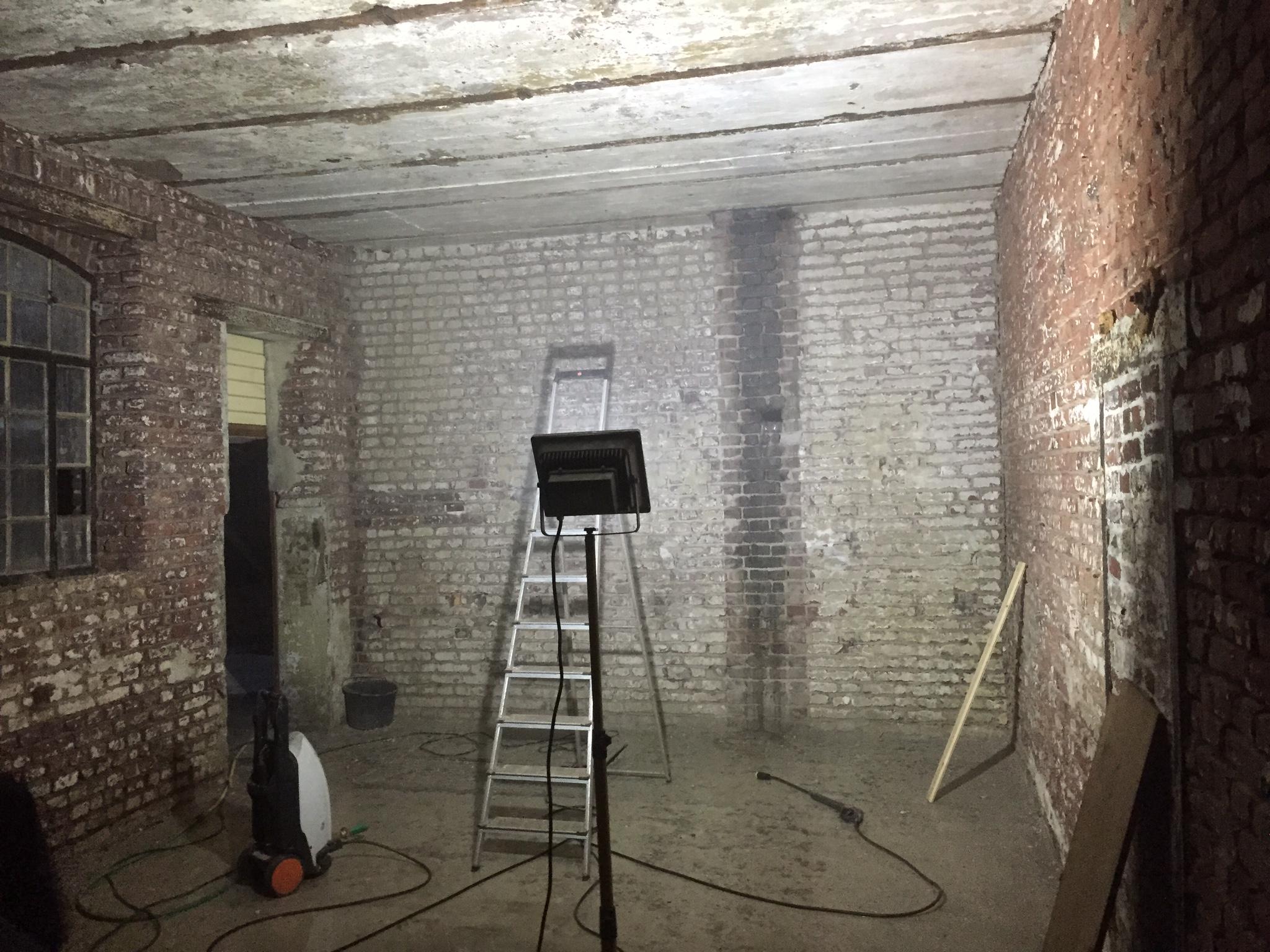 Backsteinwand Innen wandsanierung backsteinwand loft do it yourself wir sanieren